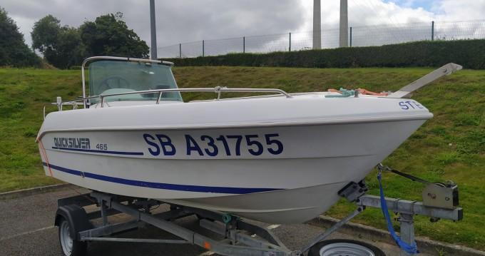 Boat rental Binic cheap Quicksilver