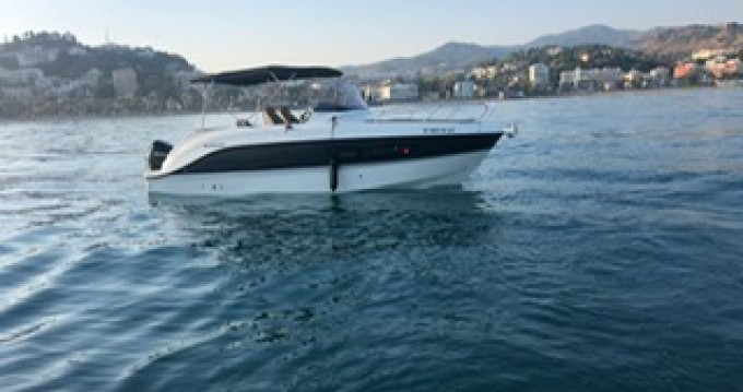 Motorboat for rent Málaga at the best price