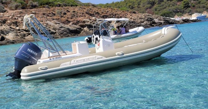 Hire RIB with or without skipper Capelli Port Saint Florent