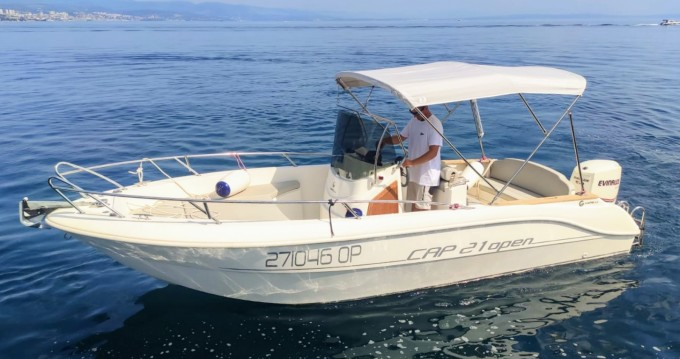 Hire Motorboat with or without skipper Capelli Opatija