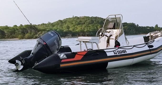 Boat rental Zodiac Pro Open 550 in Porto-Vecchio on Samboat