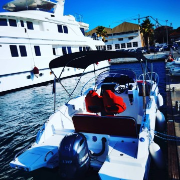 Hire Motorboat with or without skipper Okiboats Trogir