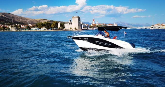 Rental Motorboat in Trogir - Okiboats Barracuda 595 SD