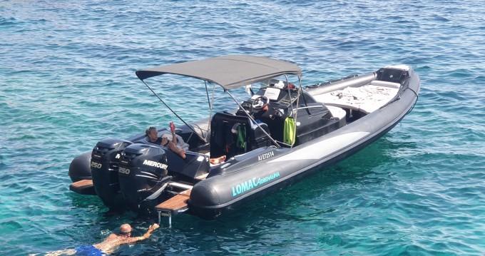 Rental RIB in Bonifacio Ferry Port - Lomac Cruiser