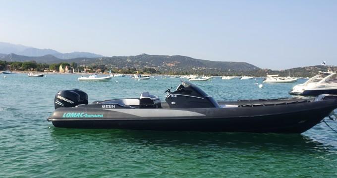 Lomac Cruiser between personal and professional Bonifacio Ferry Port