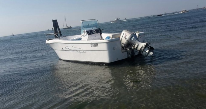 Motorboat for rent L'Estaque at the best price