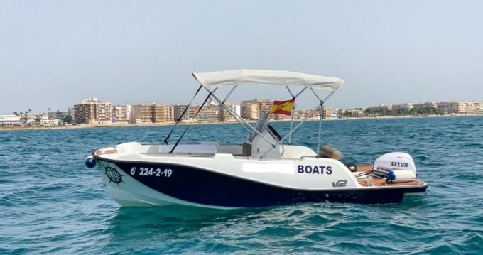 Rental Motorboat in Torrevieja - V2 BOATS 5.0 SPORT