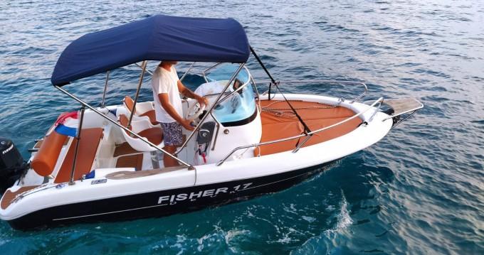 Boat rental Hvar cheap Fisher 17 Sundeck