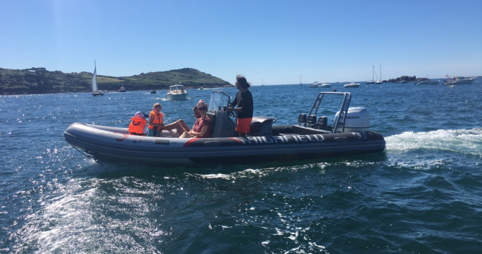 Hire RIB with or without skipper Highfield Trébeurden