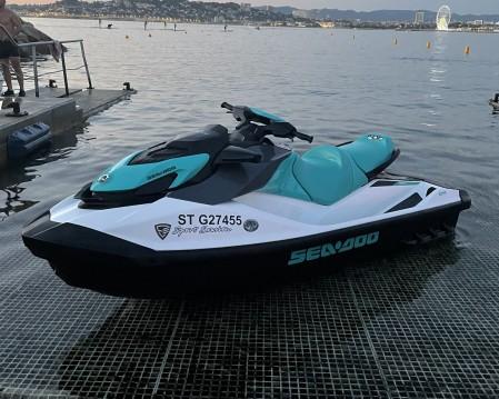 Boat rental Sea-Doo GTI 130 in Marseille on Samboat