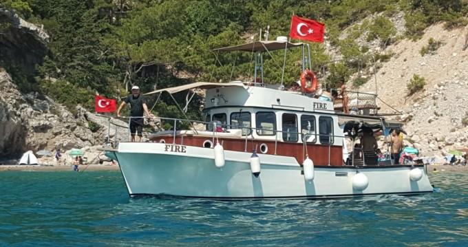 Rent a Local Production Trawler Konyaaltı
