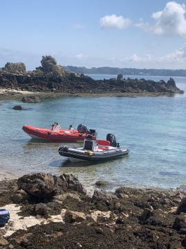 Hire RIB with or without skipper Bombard Roscoff
