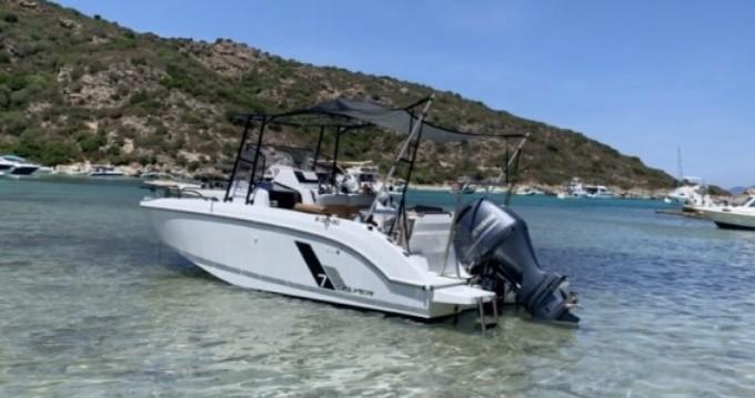 Boat rental Saint-Florent cheap Flyer 7 SPACEdeck