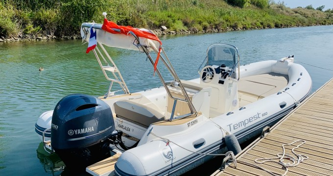 Capelli Tempest 650 between personal and professional Carnon-Plage