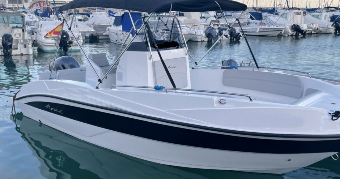 Hire Motorboat with or without skipper Nireus Benalmádena