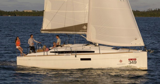 Jeanneau Sun Odyssey 349 between personal and professional Skiathos