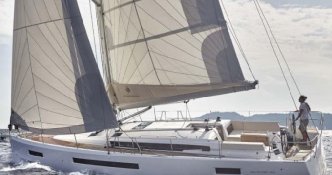 Jeanneau Sun Odyssey 490 between personal and professional Rhodes