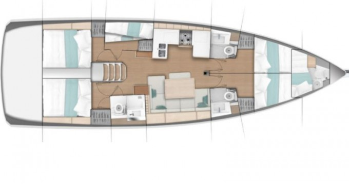 Rental yacht Kos - Jeanneau Sun Odyssey 490 on SamBoat