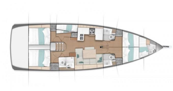 Rental yacht Kavala - Jeanneau Sun Odyssey 490 on SamBoat