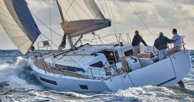 Jeanneau Sun Odyssey 490 between personal and professional Kos
