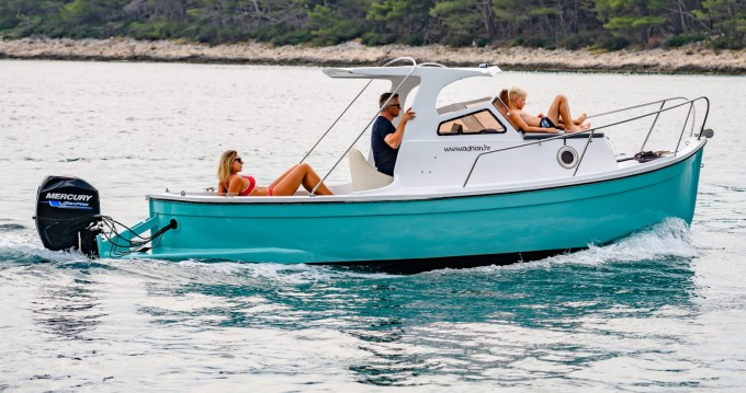 Hire Motorboat with or without skipper Gozzo Mali Lošinj