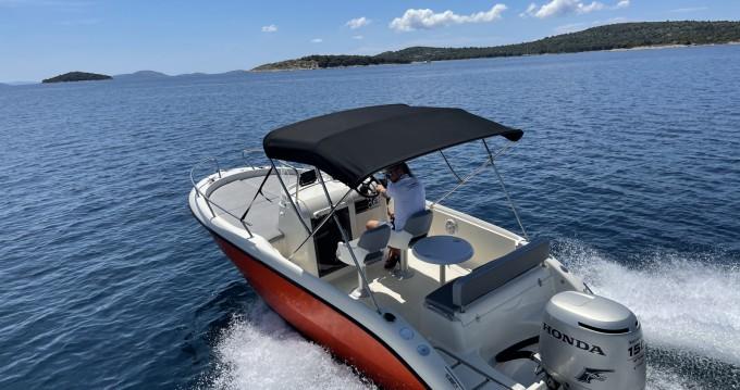 Boat rental Tisno cheap 20 Sundeck