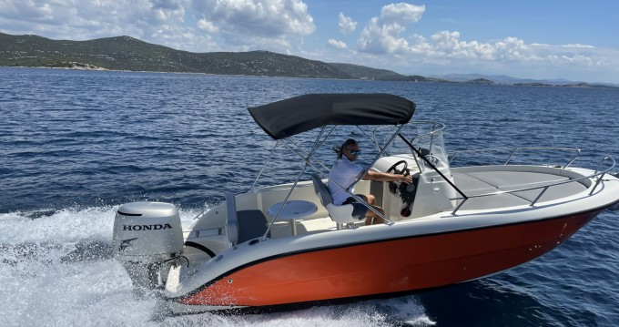 Rent a Fisher 20 Sundeck Tisno