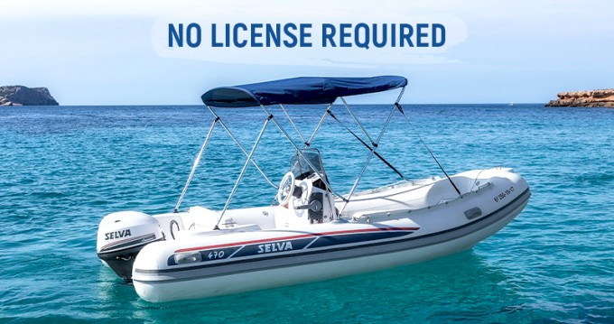 Hire RIB with or without skipper Selva Ibiza Town