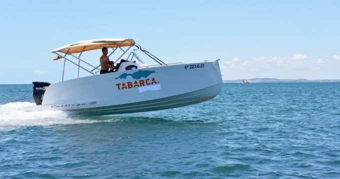 Rental Motorboat Cattleya with a permit