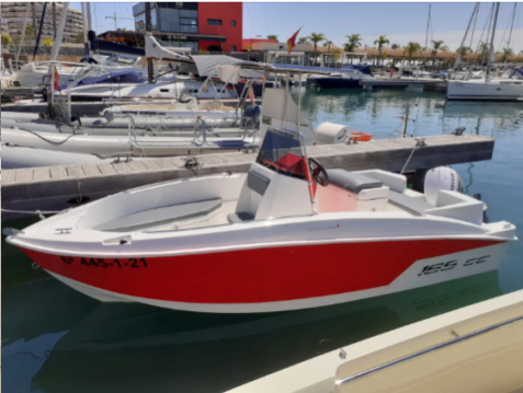 Hire Motorboat with or without skipper Compass Santa Pola