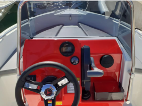 Rental Motorboat Compass with a permit