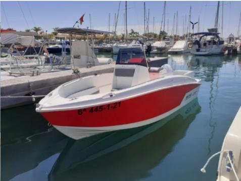 Boat rental Santa Pola cheap Compass 165 CC