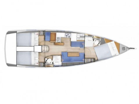 Jeanneau Sun Odyssey 410 between personal and professional Marmaris