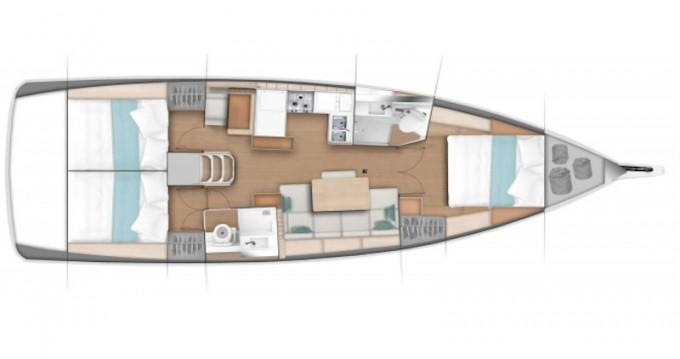 Boat rental Jeanneau Sun Odyssey 440 in Marmaris on Samboat