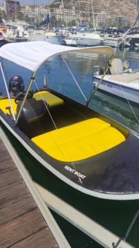 Rent a Quicksilver Quicksilver 400 Fish Port de Alicante