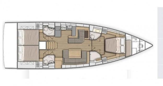 Boat rental Alimos cheap Oceanis 51.1/ 3 cabins