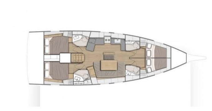 Rental yacht Préveza - Bénéteau Oceanis 46.1 on SamBoat