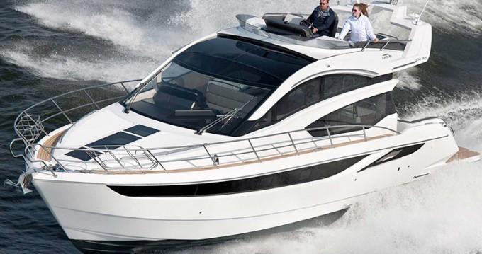 Boat rental Šibenik cheap Galeon 430 Skydeck