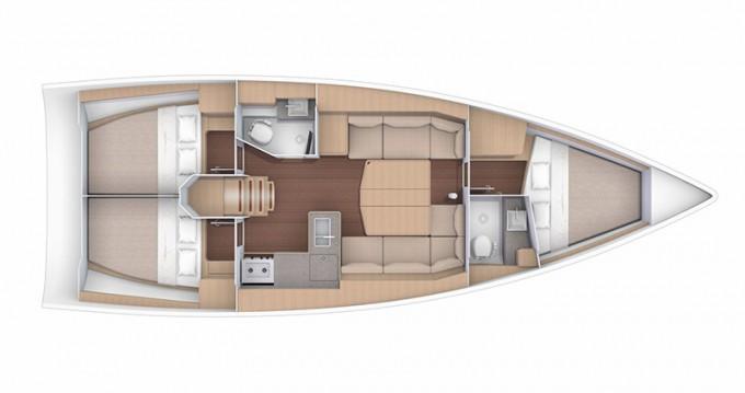 Rental Sailboat in Šibenik - Dufour Dufour 390 GL