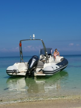 Hire RIB with or without skipper Capelli Le Palais