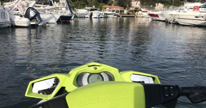 Boat rental Sea-Doo Gti 130 Pro in Nice Ferry Port on Samboat