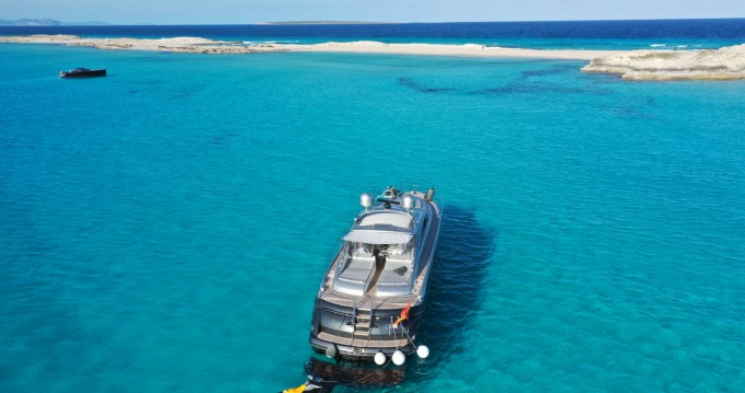 Hire Yacht with or without skipper Princess La Savina