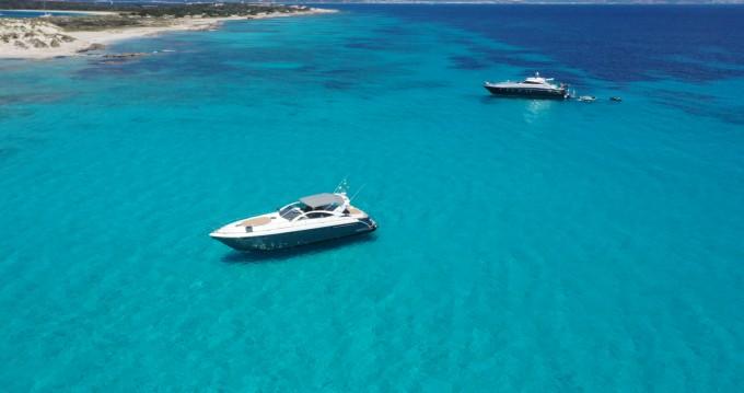 Boat rental Mahon Port cheap Targa 52