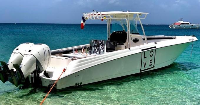 Boat rental Marigot cheap Scarab 35