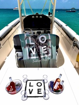 Hire Motorboat with or without skipper Wellcraft Marigot