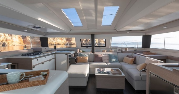 Rental yacht Alimos - Fountaine Pajot Elba 45 ( A/C,GENERATOR,WATER MAKER,INVERTER) on SamBoat