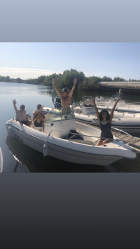 Hire Motorboat with or without skipper Jeanneau Carnon-Plage