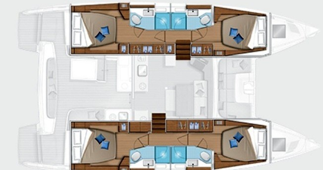 Boat rental Rogoznica cheap Lagoon 46 (2022)