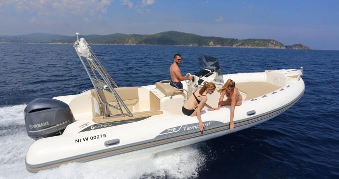 Rental yacht Palma de Mallorca - Capelli Tempest 775 on SamBoat