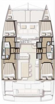 Rental yacht Rogoznica - Catana Bali 4.1 - 4 + 2 cab. on SamBoat